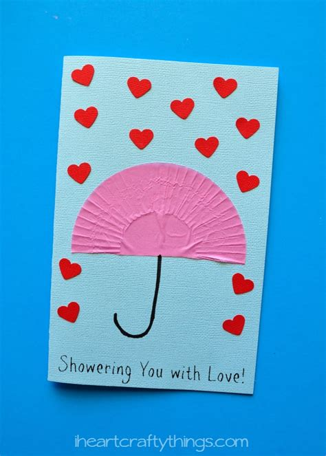 make mothers day card quot showering you with quot s day card i