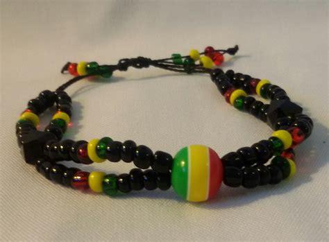 rasta bead bracelet rasta bead bracelet aina mojaaina moja