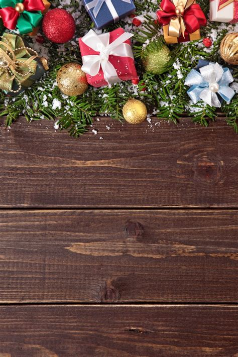 decorations images background decorations on wooden background photo free