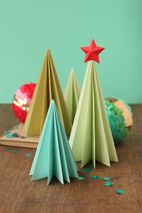 paper craft tree paper folding tree