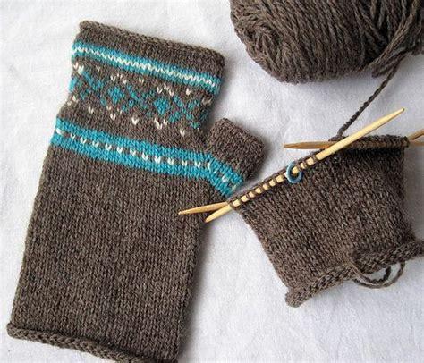 knitting mittens for beginners fair isle knitting for beginners 183 knitting craftgossip