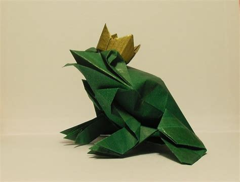 origami prince charming the origami frog prince by orestigami on deviantart
