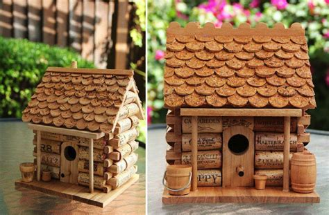 home craft projects diy craft project wine cork house find projects