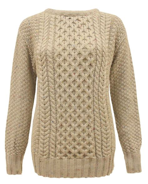 chunky knit jumper womens chunky knitted crochet womens cable knit jumper