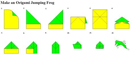 how do you make a origami frog july 2011 so to speak