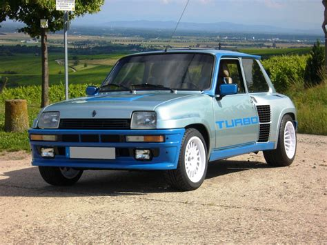 Renault R5 Turbo 2 by Cars With Turbo July 2017 Top 5 Rating Of Cars With Turbo