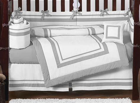 gray and white crib bedding sets contemporary modern gray and white discount cheap baby boy