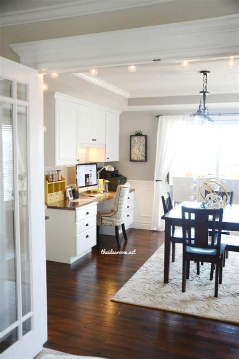 Living Dining Room Ideas office craft room tour the idea room