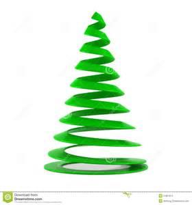 stilisierter weihnachtsbaum stylized tree in green plastic stock images