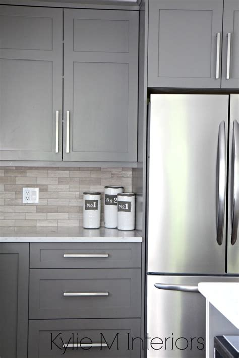 best gray for kitchen cabinets the 3 best gray and greige colours for cabinets and vanities