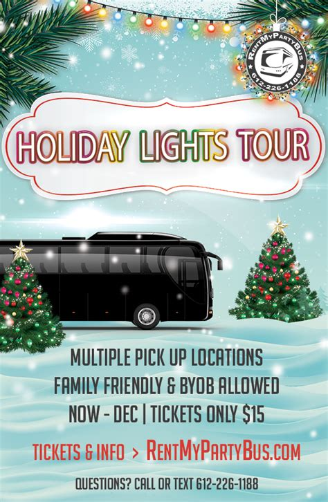 minneapolis lights tour lights tours in minneapolis rentmypartybus inc