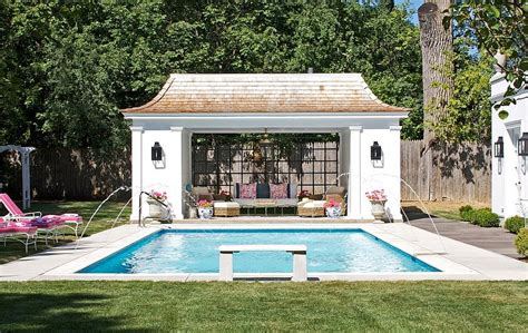 pool house 25 pool houses to complete your backyard retreat