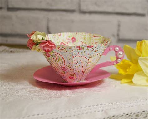 handmade paper crafts tutorial 25 best ideas about paper tea cups on 3d