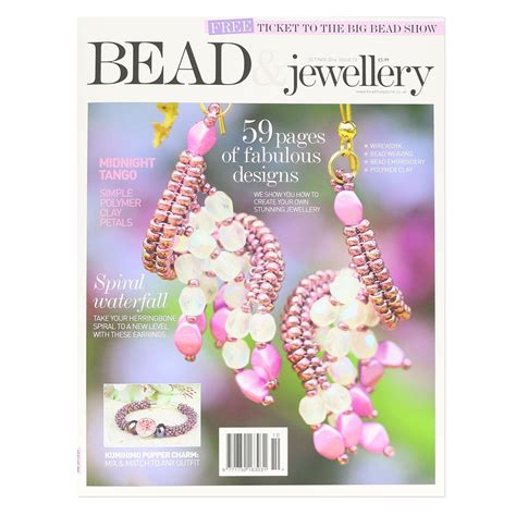 bead and jewellery magazine bead jewellery magazine october november 2016 in