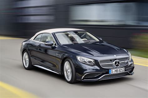 Mercedes Amg S65 by 621hp 2017 Mercedes Amg S65 Cabriolet Revealed