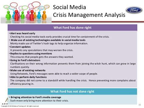 social media crisis management three case studies