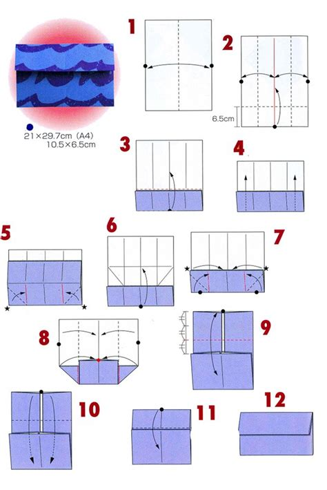 how to make a paper envelope origami origami envelopes 4 types