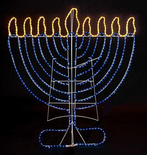 jumbo outdoor lights hanukkah indoor outdoor rope light decoration 4