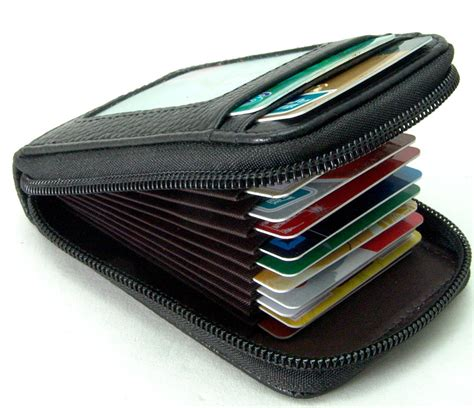how to make a credit card wallet mens top genuine leather wallet id credit cards