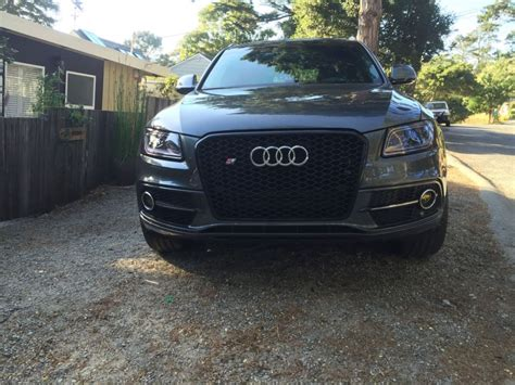 Audi Q5 Grill by Rs Honeycomb Style Grill Install On Sq5