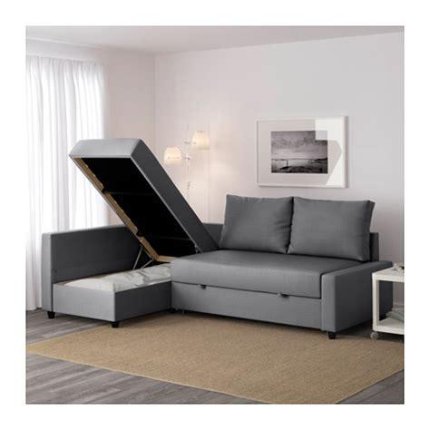 sofa bed and storage friheten corner sofa bed with storage skiftebo grey