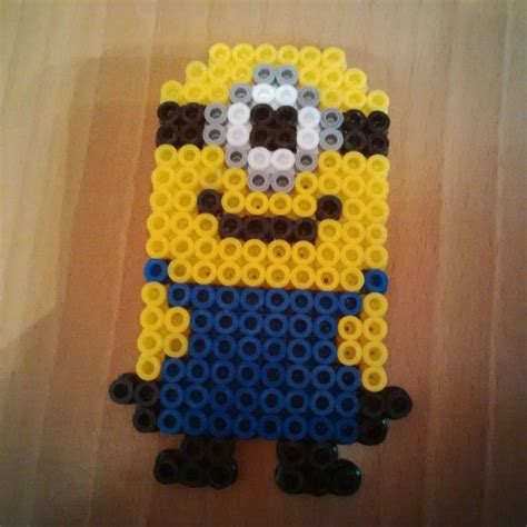 minion perler bead minion hama perler bead design by karla jade 2015 on