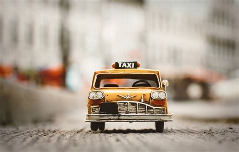 Car Toys Wallpaper by Wallpaper Car Taxi Yellow