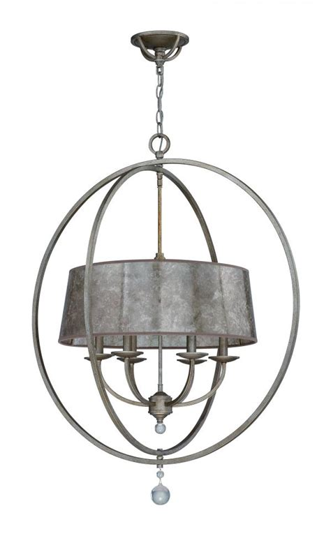glass drum chandelier jeremiah six light athenian obol mica glass drum shade chandelier 35536 ao