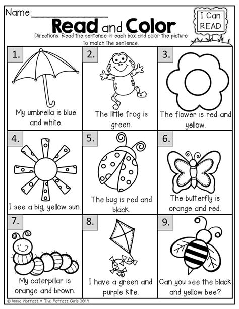 read colored 25 best ideas about worksheets for on