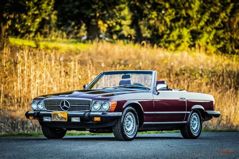 Mercedes 380sl Convertible by 1985 Mercedes 380sl Roadster Convertible 79k Lots Of