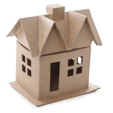 paper mache craft supplies paper mache house paper mache basic craft supplies
