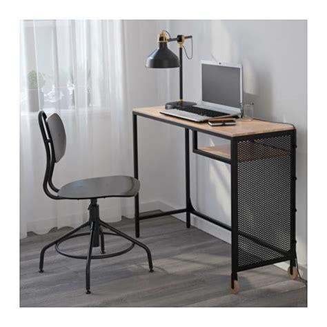 fj 196 llbo laptop table black 100x36 cm ikea