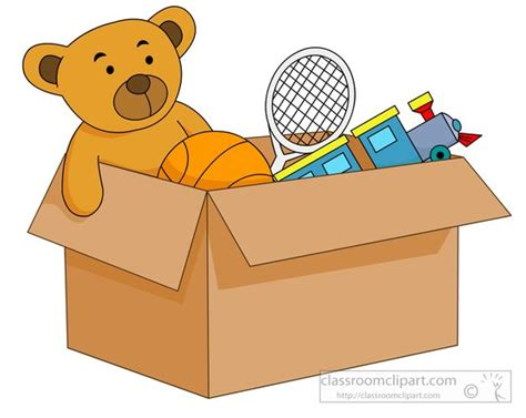 animated toys toys open box filled with toys clipart 5723