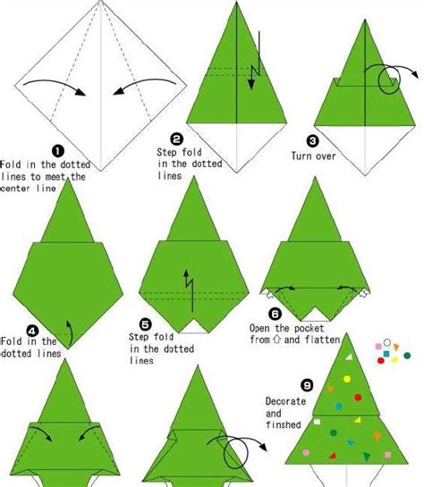 how to make a tree origami how to make origami how to make origami tree