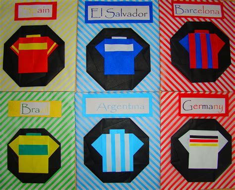 how to make a origami soccer lets make origami origami soccer t shirts