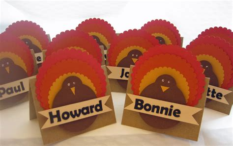 how to make thanksgiving place cards scrapstreet thanksgiving placecards