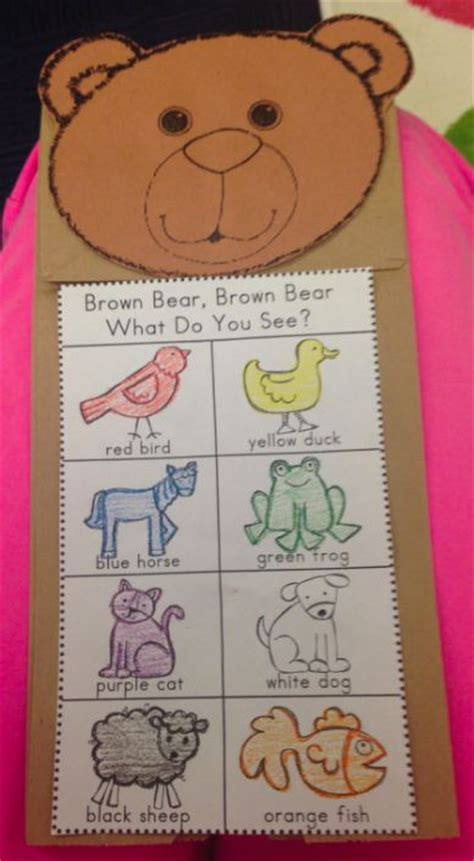 brown paper bag crafts for preschoolers best 20 preschool color crafts ideas on