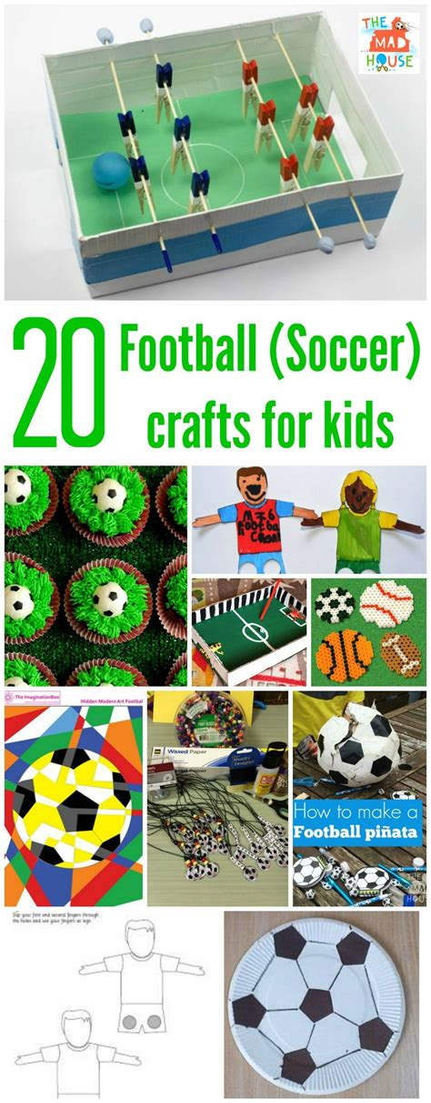 football crafts for football crafts or soccer crafts for the s in