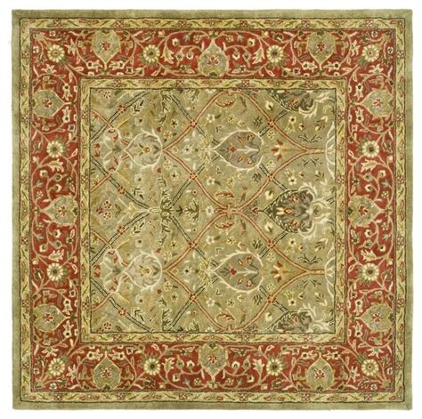 6 square area rug square rug 6 x6 traditional area rugs by shopladder