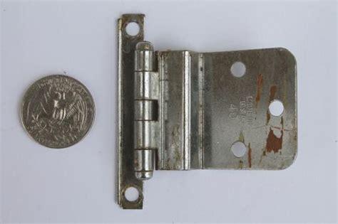 kitchen cabinet door hinges vintage deco chrome hinges kitchen cabinet hardware