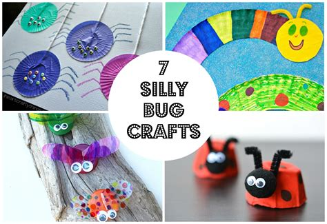 bug crafts for 7 simple and silly bug crafts