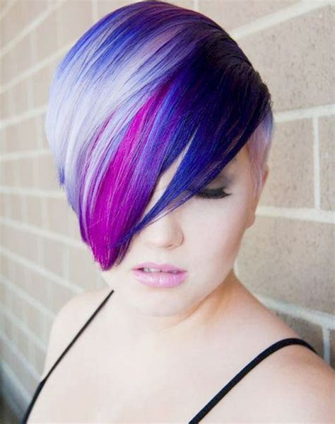 multie colored bob hair styles 35 best short hair colors short hairstyles 2016 2017