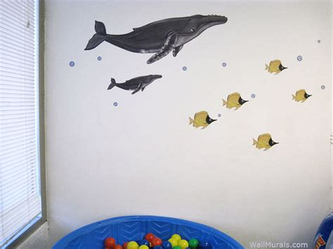 whale wall stickers humpback whale wall decals