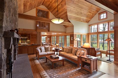 rustic cottage decor cozy cabin retreat combines warmth of wood with a bright