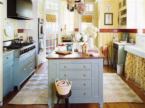cottage style kitchen island bloombety simple cottage style decorating ideas for