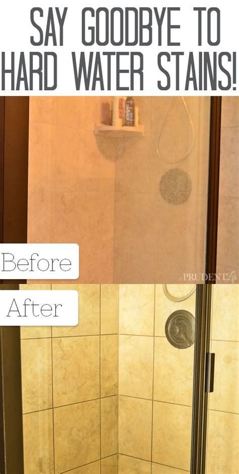 how to clean mineral deposits from shower doors best way to remove water stains from shower doors