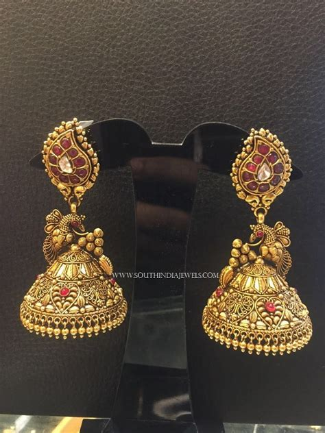 gold jewelry charges in india gold antique jhumka design 2017 ear rings gold