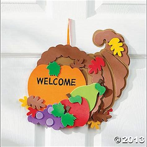 thanksgiving craft kits for door signs craft kits and thanksgiving crafts on