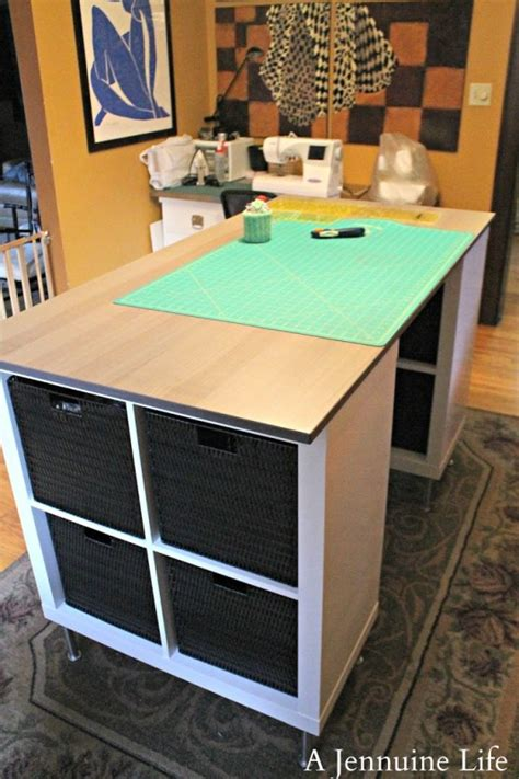 craft tables for diy counter height craft table cutting tables bedrooms