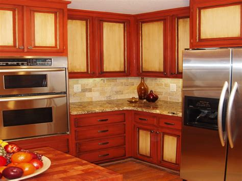paint kitchen cabinets two colors 30 painted kitchen cabinets ideas for any color and size
